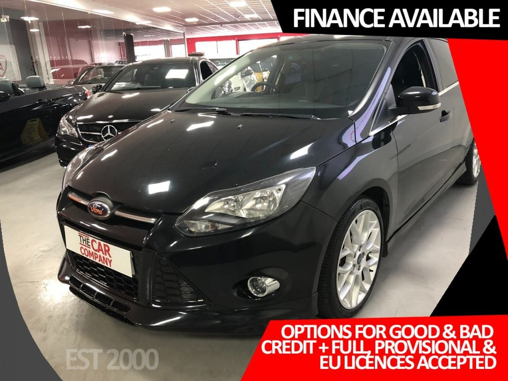 USED 2012 12 FORD FOCUS 2.0 ZETEC S TDCI 5d 161 BHP * AUTOMATIC* LOW MILES * HALF LEATHER * 18 INCH ALLOY WHEELS *