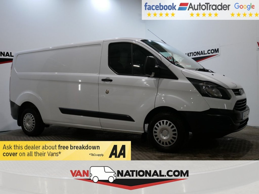 USED 2013 63 FORD TRANSIT CUSTOM 2.2 290 LR P/V 100 BHP *LWB L2 *LOW MILES*1 OWNER* * ONE OWNER * LWB * BLUETOOTH * ZERO DEPOSIT FINANCE AVAILABLE *