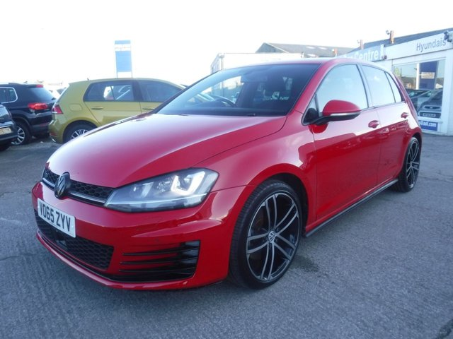 USED 2015 65 VOLKSWAGEN GOLF 2.0 GTD 5d 181 BHP *FULL SERVICE HISTORY*£20 POUND ROAD TAX*ADAPTIVE CRUISE CONTROL*SAT NAV*