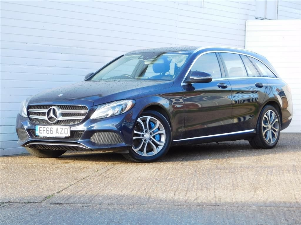 USED 2016 66 MERCEDES-BENZ C-CLASS 2.0 C350 E SPORT 5d 208 BHP HEATED LEATHER SAT NAV 1 OWNER
