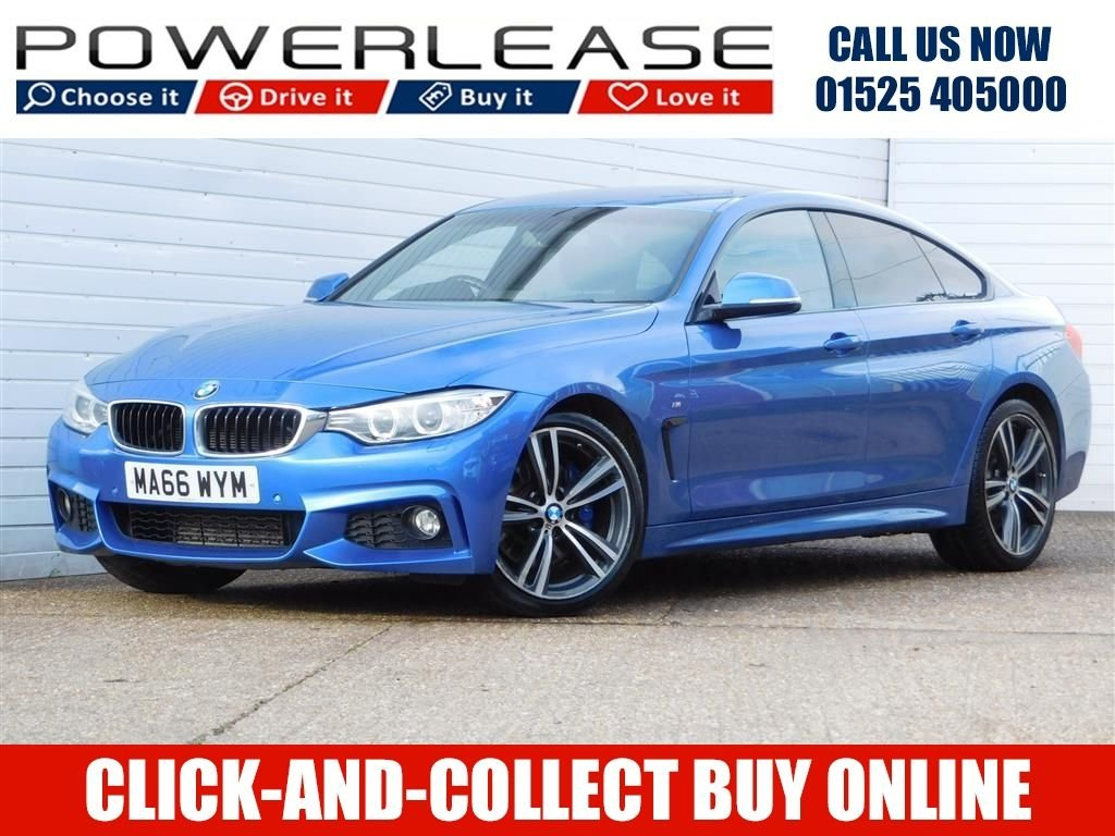 USED 2016 66 BMW 4 SERIES 2.0 420D M SPORT GRAN COUPE 4d 188 BHP FULL BMW HISTORY R/CAMERA