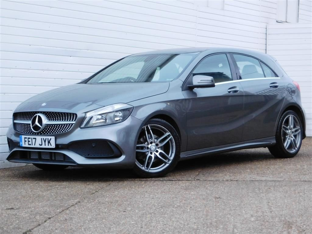 USED 2017 17 MERCEDES-BENZ A-CLASS 2.1 A 200 D AMG LINE 5d 134 BHP 30 POUND ROAD TAX R/CAMERA