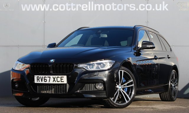 2017 67 BMW 3 SERIES 3.0 335D XDRIVE M SPORT TOURING 5d 308 BHP [ PANROOF ]