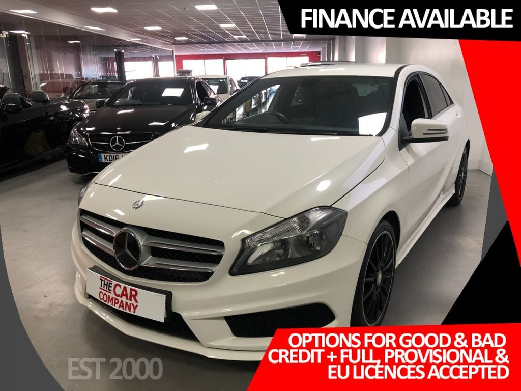 USED 2013 13 MERCEDES-BENZ A-CLASS 1.8 A200 CDI BLUEEFFICIENCY AMG SPORT 5d 136 BHP * SAT NAV * LEATHER INTERIOR * PRIVACY GLASS * 18 INCH ALLOY WHEELS *