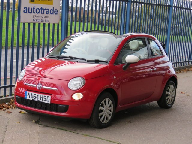 USED 2014 64 FIAT 500 1.2 C COLOUR THERAPY 69 Convertible Air con Electric roof  Finance arranged Part exchange available Open 7 days ULEX Compliant