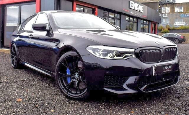 2019 19 BMW M5 4.4 M5 COMPETITION 4d 617 BHP
