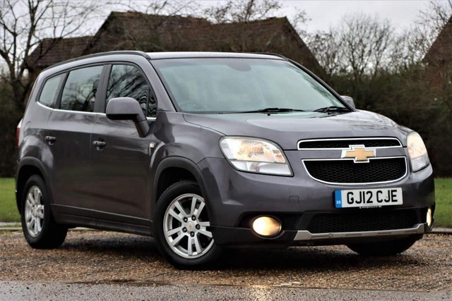 USED 2012 12 CHEVROLET ORLANDO 2.0 VCDi LTZ (Exec Pack) 5dr 7 SEATS Great spec LUXURY suv