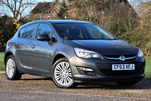 USED 2014 63 VAUXHALL ASTRA 1.7 CDTi ecoFLEX Energy 5dr 1 OWNER FROM NEW+LOW MILES