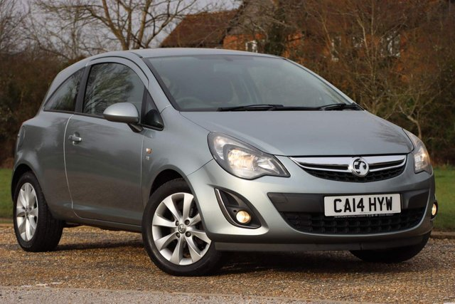 USED 2014 14 VAUXHALL CORSA 1.3 CDTi ecoFLEX 16v Excite 3dr (a/c) YES GENUINE MILEAGE+1 OWNER