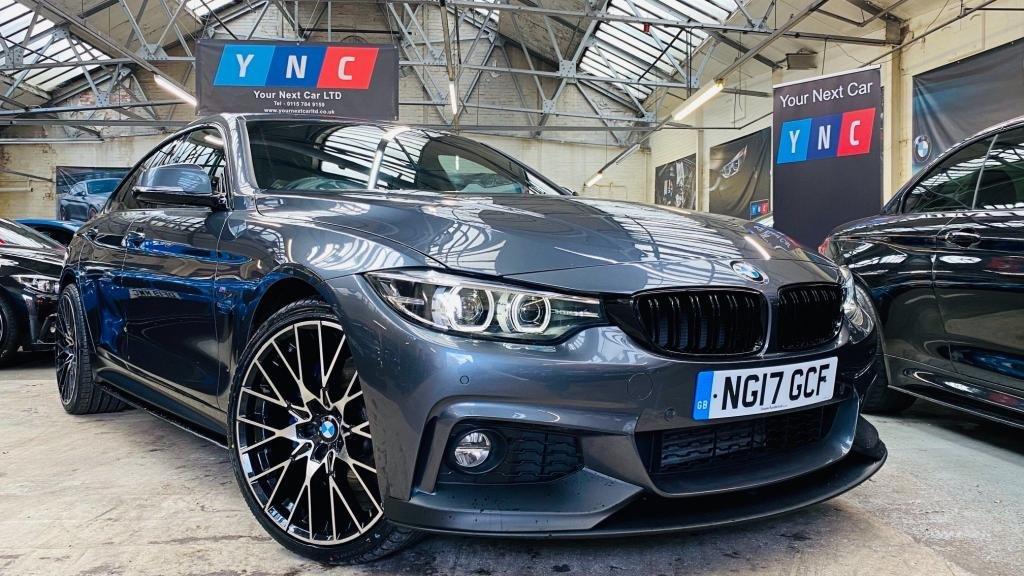 USED 2017 17 BMW 4 SERIES 2.0 420d M Sport Gran Coupe Auto xDrive (s/s) 5dr PERFORMANCEKIT+HUGESPEC!+20S