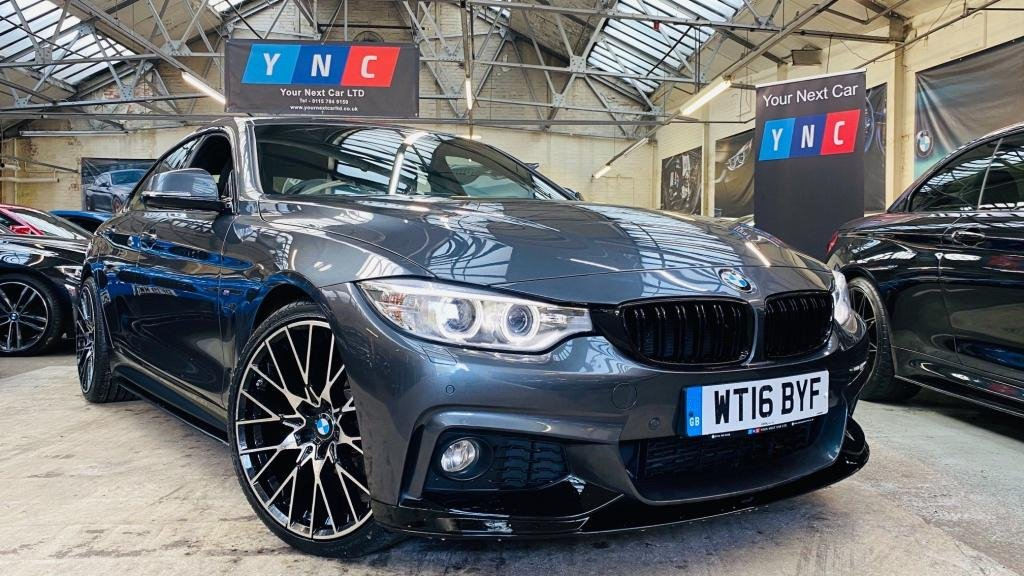 USED 2016 16 BMW 4 SERIES 2.0 420d M Sport Gran Coupe (s/s) 5dr PERFORMANCEKIT+20S+REVCAM!