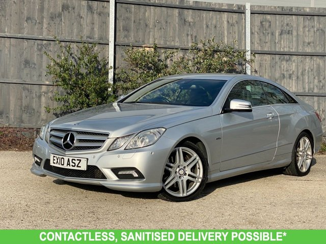 USED 2010 10 MERCEDES-BENZ E-CLASS 3.0 E350 CDI BLUEEFFICIENCY SPORT 2d 231 BHP AUTOMATIC LOW MILEAGE, MANY EXTRAS.FINANCE ME TODAY-UK DELIVERY POSSIBLE