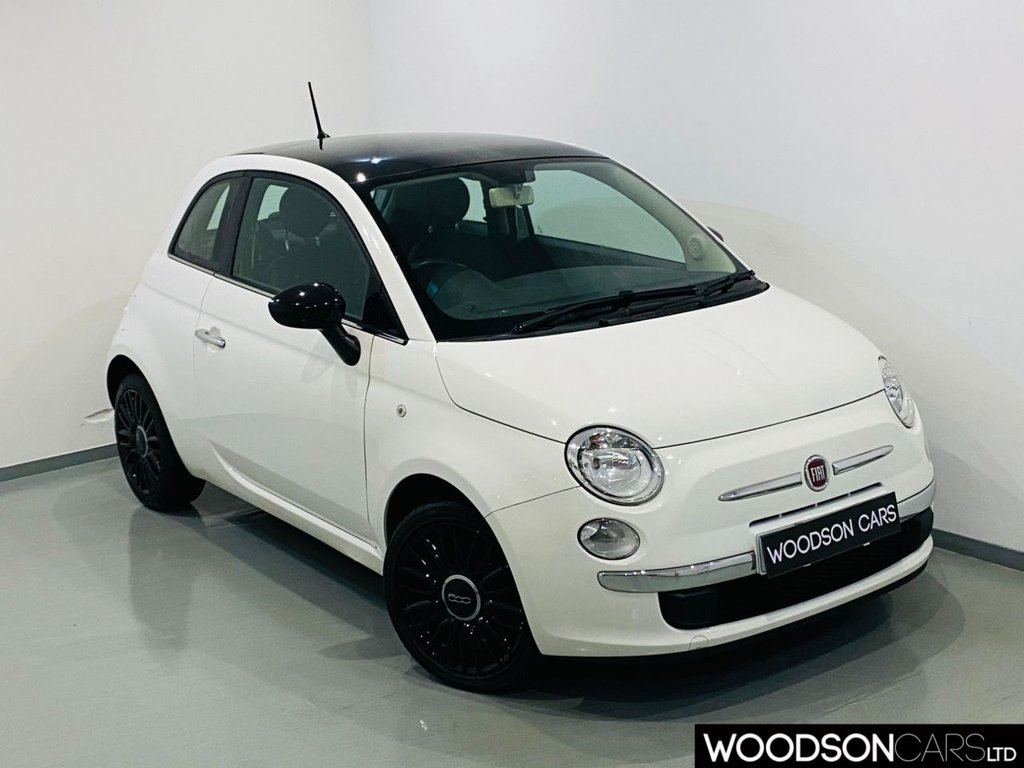 USED 2014 64 FIAT 500 1.2 CULT 3d 69 BHP £30 Road Tax / Leather Seats / Parking Sensors / Panoramic Roof