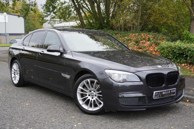 USED 2012 12 BMW 7 SERIES 3.0 730D M SPORT 4d 242 BHP *VERY HIGH SPEC, BOSE SOUND UPGRADE, MUST SEE!*