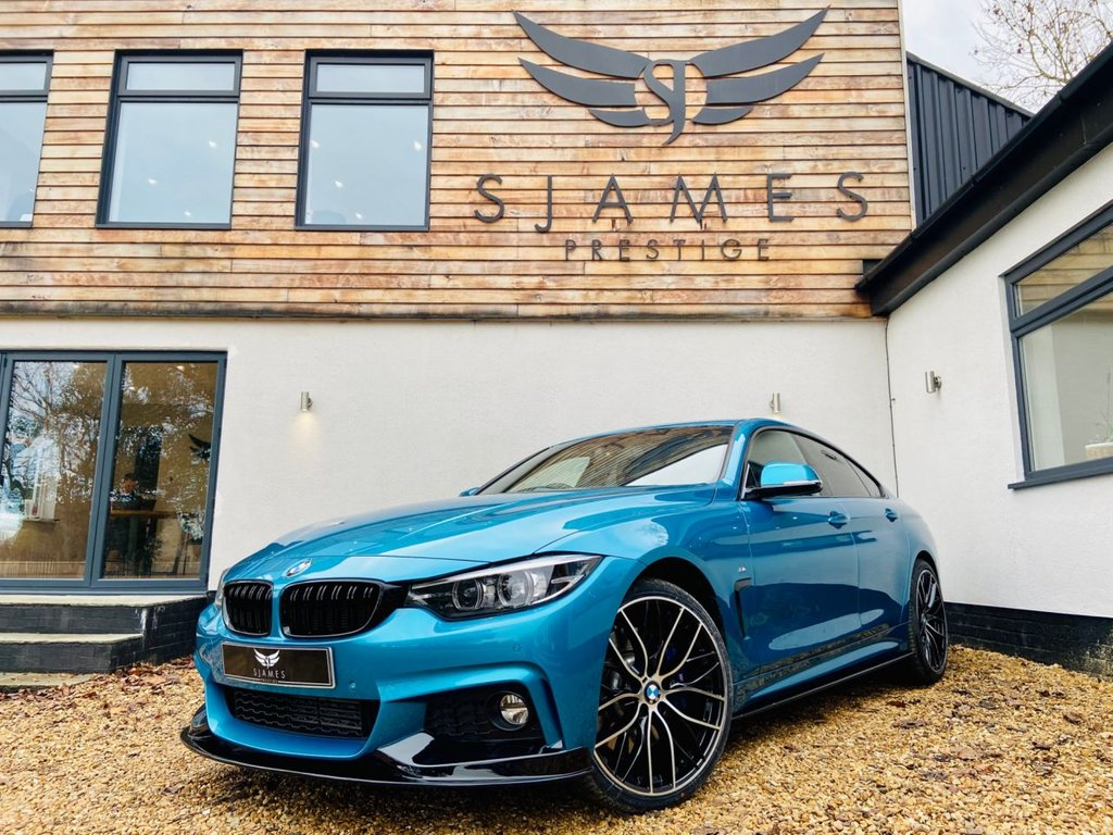 USED 2018 18 BMW 4 SERIES GRAN COUPE 3.0 435D XDRIVE M SPORT GRAN COUPE 4d AUTO 309 BHP