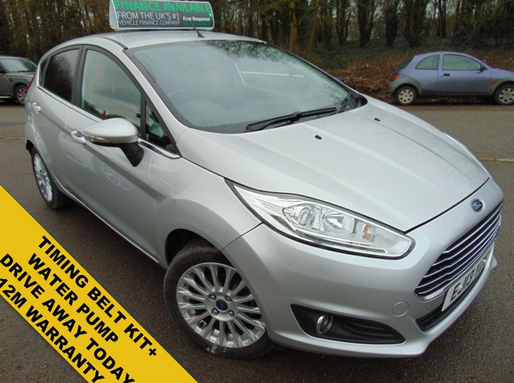 USED 2013 13 FORD FIESTA 1.6 TITANIUM 5d 104 BHP FRESH FULL SERVICE ON PURCHASE