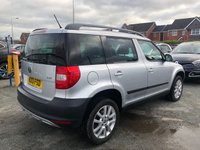 USED 2013 13 SKODA YETI 2.0 ELEGANCE TDI CR 5d Family 4x4 SUV Manual Great Value for Money