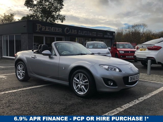 USED 2010 60 MAZDA MX-5 1.8 I ROADSTER SE 2d 125 BHP