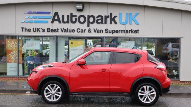 USED 2017 67 NISSAN JUKE 1.2 ACENTA DIG-T 5d 115 BHP . LOW DEPOSIT OR NO DEPOSIT FINANCE AVAILABLE . COMES USABILITY INSPECTED WITH 30 DAYS USABILITY WARRANTY + LOW COST 12 MONTHS USABILITY WARRANTY AVAILABLE FOR ONLY £199 (DETAILS ON REQUEST). ALWAYS DRIVING DOWN PRICES . BUY WITH CONFIDENCE . OVER 1000 GENUINE GREAT REVIEWS OVER ALL PLATFORMS FROM GOOD HONEST CUSTOMERS YOU CAN TRUST .