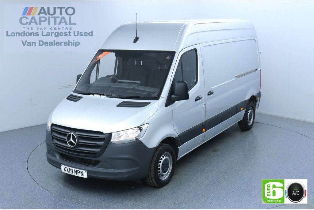 USED 2019 19 MERCEDES-BENZ SPRINTER 2.1 314 CDI 141 BHP L2 H2 MWB Euro 6 Low Emission Finance Available Online | Air Conditioning | UK Delivery