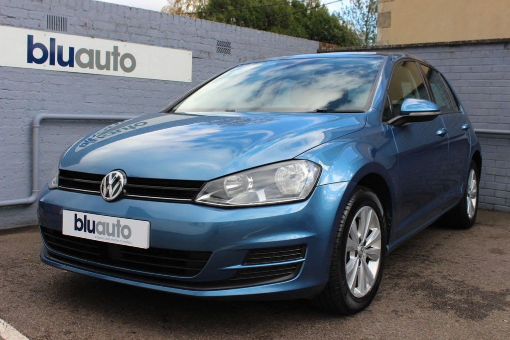 USED 2014 14 VOLKSWAGEN GOLF 1.4 SE TSI BLUEMOTION TECHNOLOGY DSG 5d 120 BHP 1 Owner, 6 Service Stamps, Bluetooth, DAB, Adaptive Cruise Control
