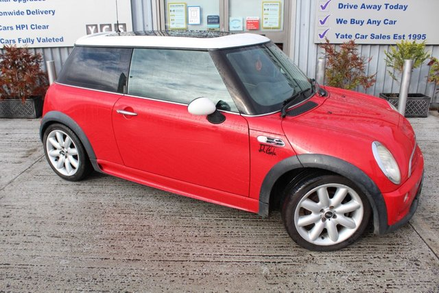 2002 02 MINI HATCH COOPER 1.6 COOPER S 3d 161 BHP