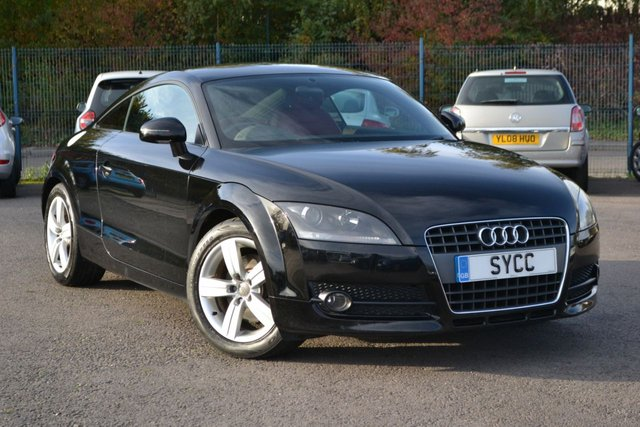 USED 2008 08 AUDI TT 2.0 TFSI 3d 200 BHP EXCLUSIVE LINE ~ HEATED RED LEATHER ~ 2 KEYS HEATED RED LEATHER ~ REAR PRIVACY GLASS ~ 2 KEYS