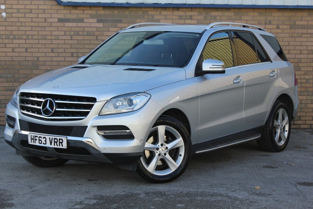 USED 2013 63 MERCEDES-BENZ M-CLASS 2.1 ML250 BLUETEC SE 5d 204 BHP
