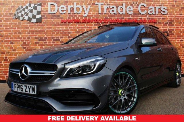 MERCEDES-BENZ A-CLASS at Derby Trade Cars