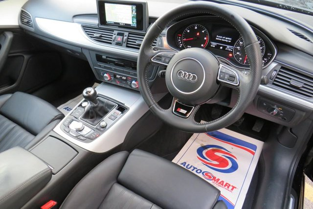 USED 2015 65 AUDI A6 2.0 AVANT TDI ULTRA S LINE 5d 188 BHP