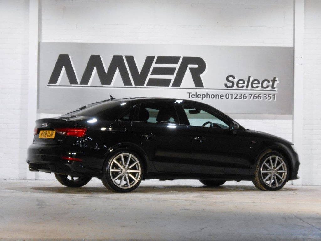 USED 2018 18 AUDI A3 1.5 TFSI BLACK EDITION 4d 148 BHP