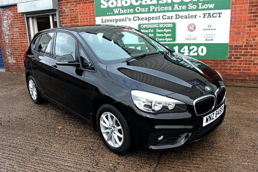 USED 2017 17 BMW 2 SERIES 1.5 216D SE ACTIVE TOURER 5d 114 BHP +ONE OWNER +FSH +SAT NAV.