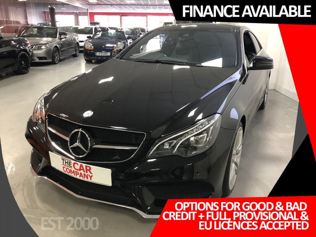 USED 2016 16 MERCEDES-BENZ E-CLASS 2.1 E 220 D AMG LINE EDITION 2d 174 BHP * NAV * 19 INCH ALLOY WHEELS * PANORAMIC ROOF * MOT 30th JULY *