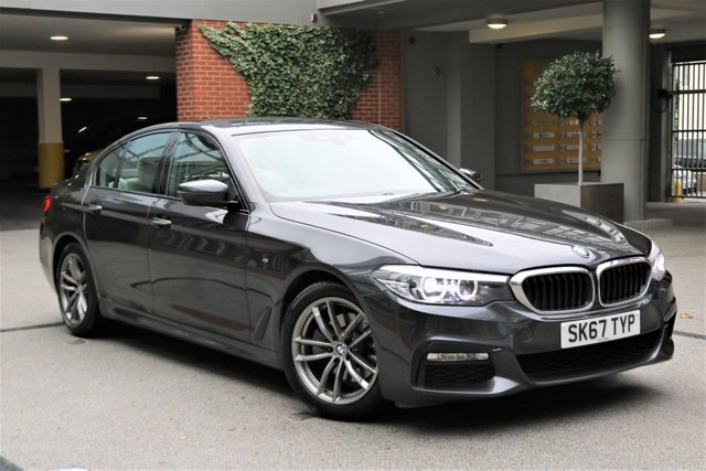 USED 2017 67 BMW 5 SERIES 2.0 520D M SPORT 4d 188 BHP