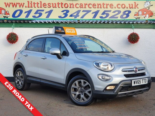 USED 2015 65 FIAT 500X 1.6 MULTIJET CROSS 5d 120 BHP
