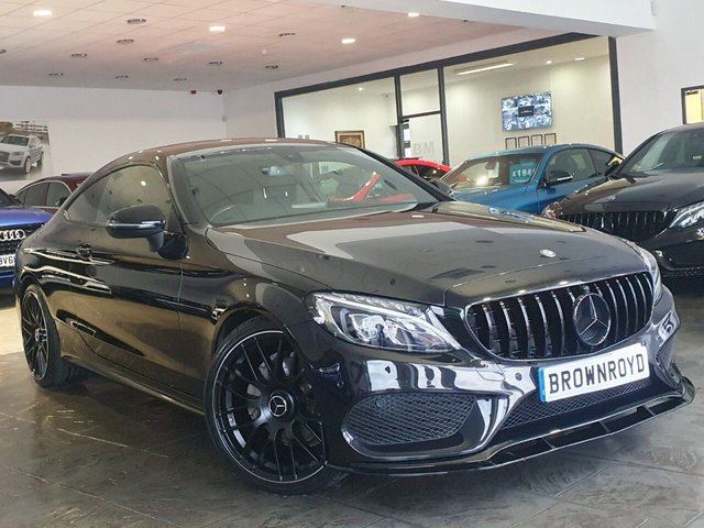 USED 2016 16 MERCEDES-BENZ C-CLASS 2.1 C 220 D AMG LINE 2d 168 BHP BRM BODY STYLING+PAN ROOF