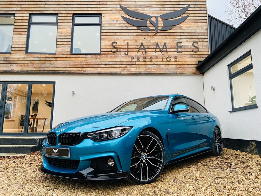 USED 2018 68 BMW 4 SERIES 2.0 420I M SPORT GRAN COUPE 4d AUTO 181 BHP