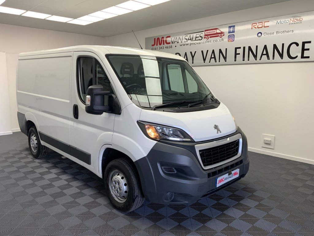 USED 2016 16 PEUGEOT BOXER 2.2 HDI 330 L1H1 PROFESSIONAL 110 BHP FSH CHOICE IN STOCK X3 6 MONTHS RAC WARRANTY  PART EX WELCOME CAR OR VAN
