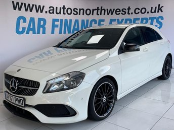 2017 MERCEDES-BENZ A-CLASS 1.6 A 160 AMG LINE EXECUTIVE 5d 102 BHP £16000.00