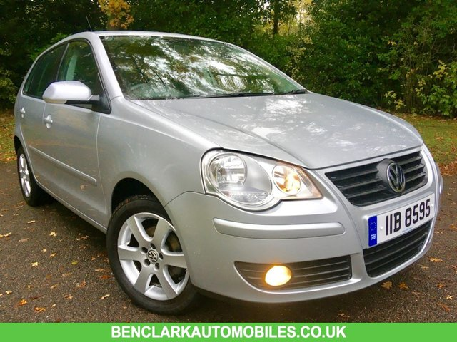 2009 09 VOLKSWAGEN POLO 1.2 MATCH 5d 59 BHP AIRCON ONLY 8,000 MILES/FULL VW/SPECIALIST SERVICE HISTORY