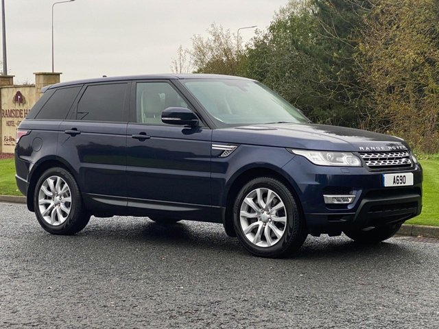 USED 2016 16 LAND ROVER RANGE ROVER SPORT 3.0 SDV6 HSE 5d 306 BHP 4WD AUTO 3 Zone Climate & Climate Seats