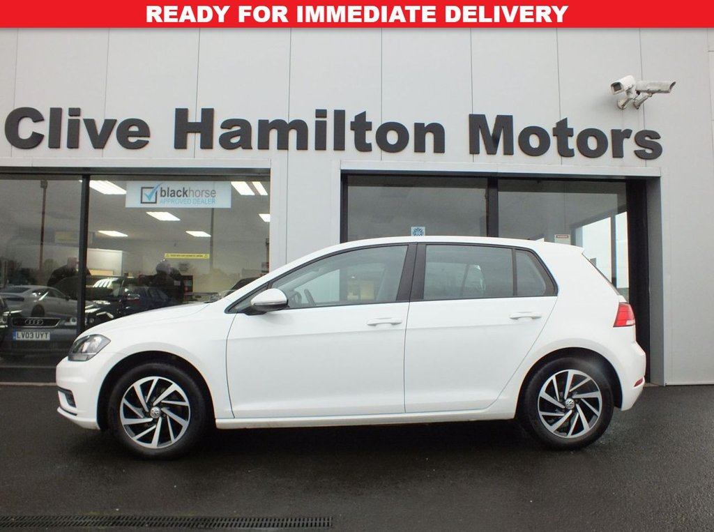 USED 2018 18 VOLKSWAGEN GOLF 1.4 TSI AUTOMATIC BLUEMOTION S TECHNOLOGY 5d 124 BHP
