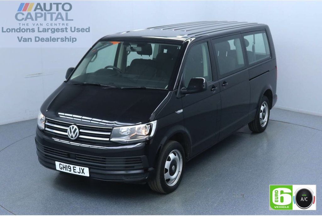 USED 2019 19 VOLKSWAGEN TRANSPORTER SHUTTLE 2.0 T32 TDI Auto 148 BHP 9 Seats Euro 6 Low Emission Automatic | Air Con | Start-Stop | 9 Seater