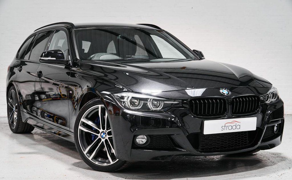 USED 2018 18 BMW 3 SERIES 2.0 320D M SPORT SHADOW EDITION TOURING 5d 188 BHP