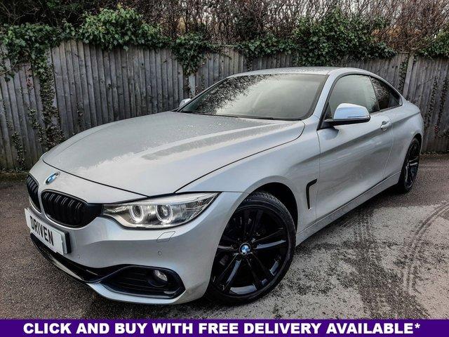 2015 64 BMW 4 SERIES 2.0 420D SPORT 2d 181 BHP