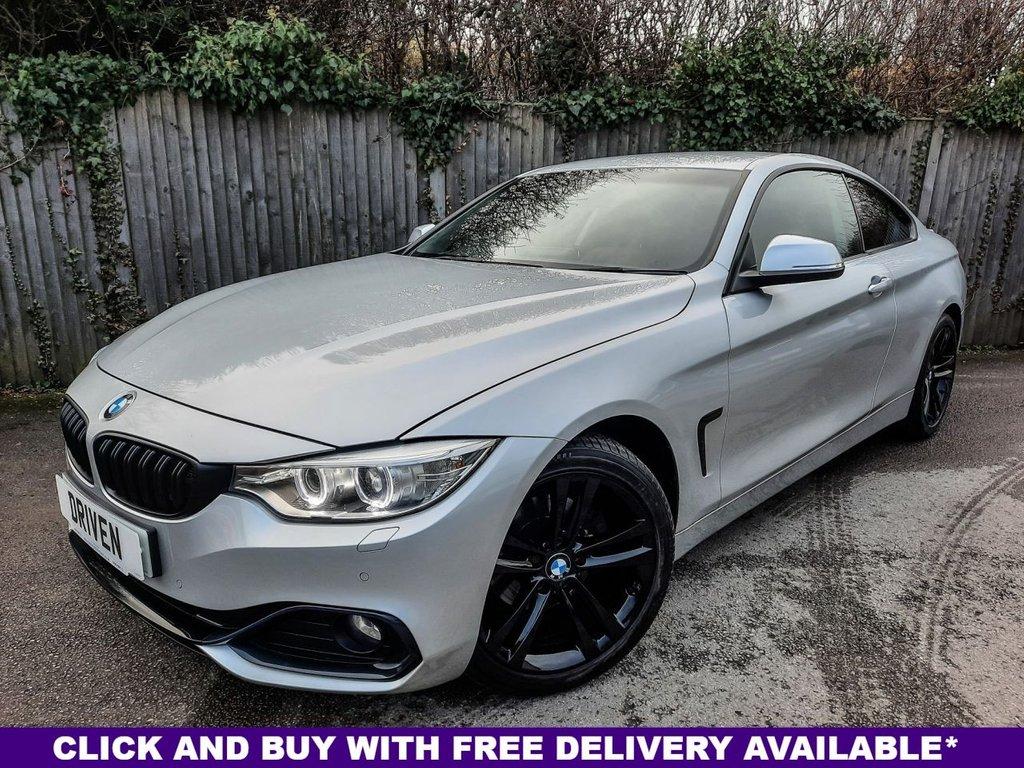 USED 2015 64 BMW 4 SERIES 2.0 420D SPORT 2d 181 BHP