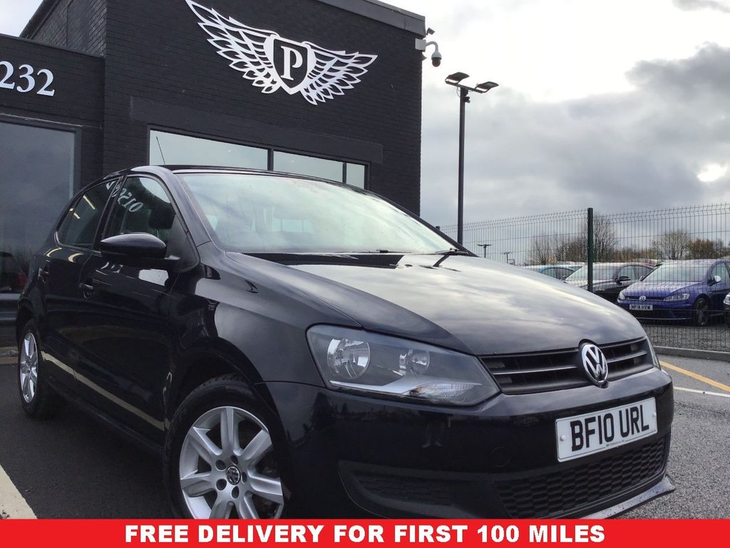 USED 2010 VOLKSWAGEN POLO 1.4 SE 5dr WARRANTY,  MOT AND SERVICE