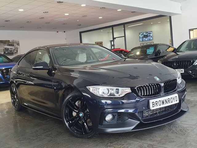 USED 2015 15 BMW 4 SERIES GRAN COUPE 3.0 435D XDRIVE M SPORT GRAN COUPE 4d 309 BHP BM PERFORMANCE STYLING+6.9%APR