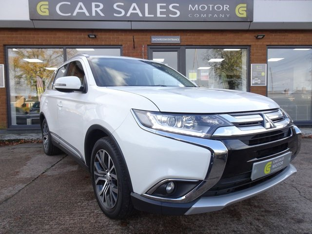 USED 2016 66 MITSUBISHI OUTLANDER 2.3 DI-D GX 3 5d 147 BHP FULL LEATHER, 4WD, 7 SEATS, BLUETOOTH, MITSUBISHI SERVICE HISTORY 6 STAMPS, MOT TILL SEPTEMBER 2021, HPI CLEAR, 2 REMOTE KEYS