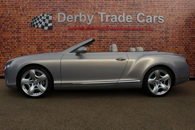 BENTLEY CONTINENTAL at Derby Trade Cars